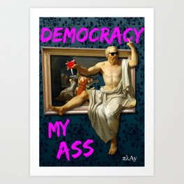 The Death (?) of Socrates Art Print