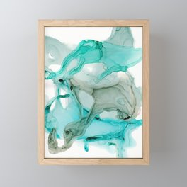 Aqua Life Framed Mini Art Print
