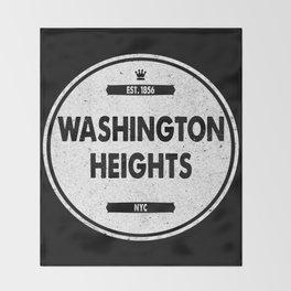 Washington Heights Throw Blanket