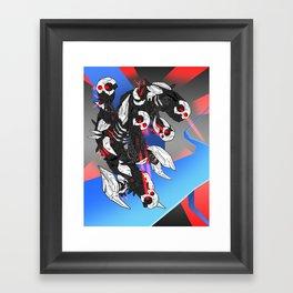 ULTRACRASH 3 Framed Art Print