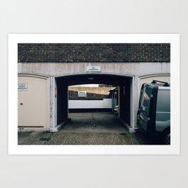 Cadogan Lane #2 Art Print