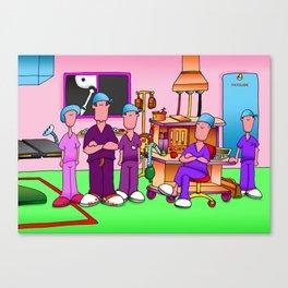 Theatre Team #2 Canvas Print