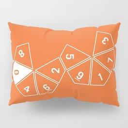 Orange Unrolled D10 Pillow Sham