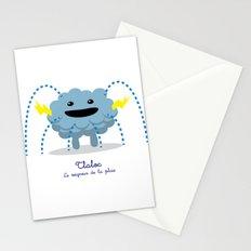 Tlaloc - Le seigneur de la pluie (Lil Gods) Stationery Cards