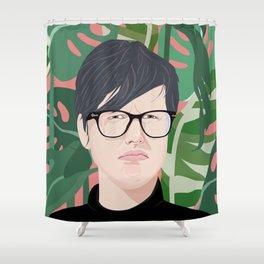 Hannah Gadsby Shower Curtain