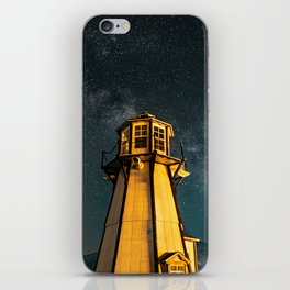 Mountain Light House Two iPhone Skin