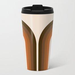 Cocoa Coffee Rainbow Travel Mug