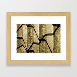 Shadow in Hackney3 Framed Art Print