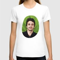 james franco T-shirts featuring James Franco by WeedPornDaily