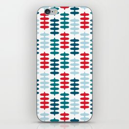 Joy collection - Red leaves iPhone Skin