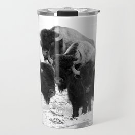 Bisons, buffalos Travel Mug