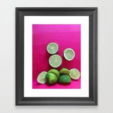 Cherry Limeade Framed Art Print