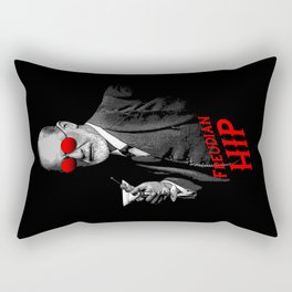 Hipster Psychologist Sigmund Freud Rectangular Pillow