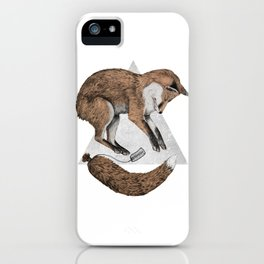 The Fox Who Lost His Tail iPhone Case