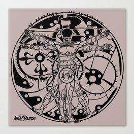 Protopian Man Canvas Print