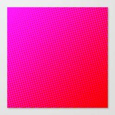 80's grade red Canvas Print