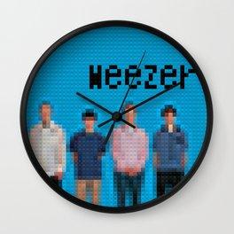 Blue Album - Legobricks Wall Clock