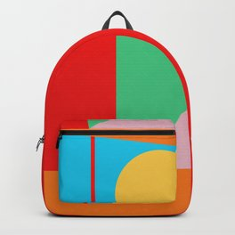 Circle Series - Summer Palette No. 5 Backpack