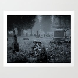 Angel Of The Departed  Art Print