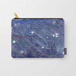 Silver Galaxy Carry-All Pouch
