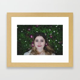 hanna Framed Art Print