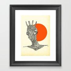 - halloween part 1 - Framed Art Print