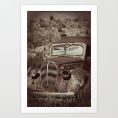 Ford.....abandoned Art Print