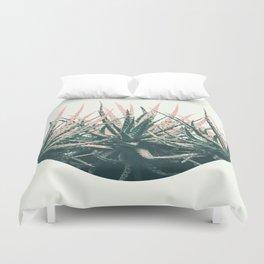 Succulent bowl desert Duvet Cover