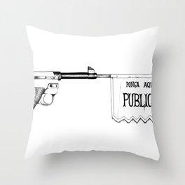 Bang Bang Throw Pillow