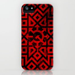 Chaos Communism - Detailed Design iPhone Case