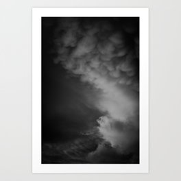Coulds of Smoke Art Print