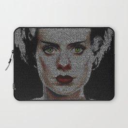 The Bride of Frankenstein Screenplay Print Laptop Sleeve