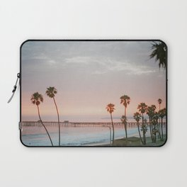 palm trees sunset ii / san clemente, california Laptop Sleeve