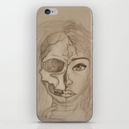 Undead woman iPhone Skin