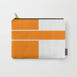 Team Color 6...orange,white Carry-All Pouch
