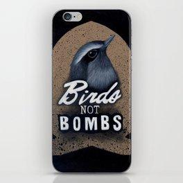 Birds not Bombs iPhone Skin