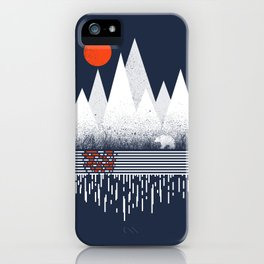 Chill of Winter iPhone Case