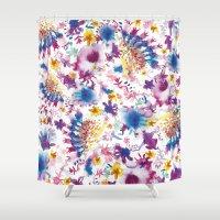marine Shower Curtains featuring MARINE by BluePurple