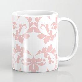 CVF0072 Decorative Pink Floral Swirls Coffee Mug