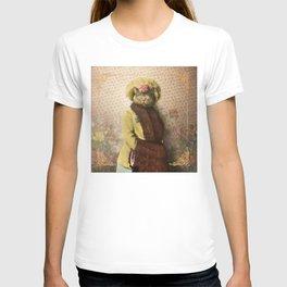 Lady Vanderkat with Roses T-shirt