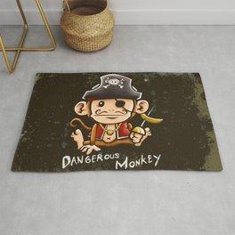 Dangerous Monkey! Rug