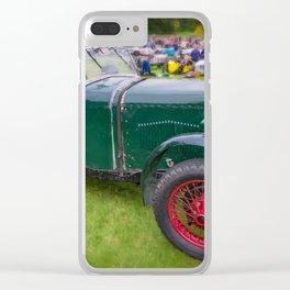 Riley Classic Car Clear iPhone Case