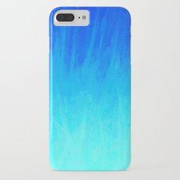 Icy Blue Blast iPhone Case