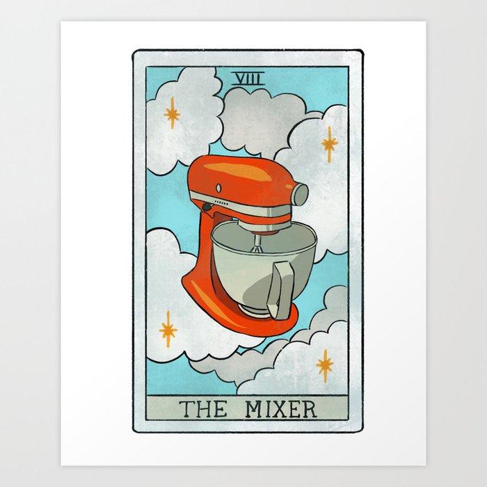 The Mixer | Baker's Tarot Kunstdrucke
