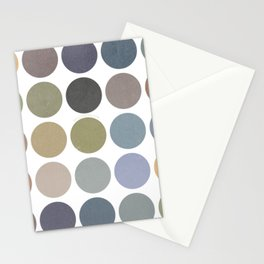 circles of color Stationery Cards