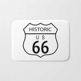 Route 66 Historic Bath Mat
