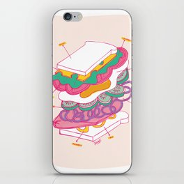 How to make a sandwich iPhone Skin