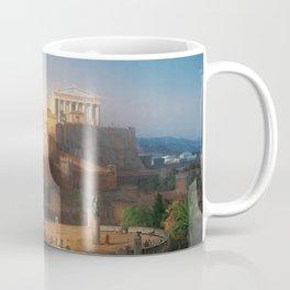 The Acropolis of Athens, Greece by Leo von Klenze Coffee Mug
