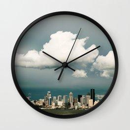 Seattle Shade Wall Clock