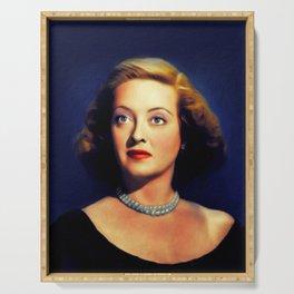 Bette Davis, Actress Serving Tray